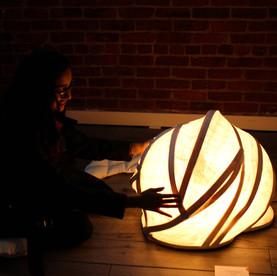 billow lamp