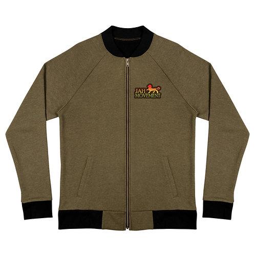 Mens Jacket. Rasta clothing. Jah Movement Bomber Jacket