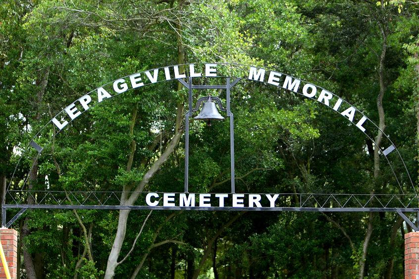 LePageville Cemetery Arch Dedication (Se