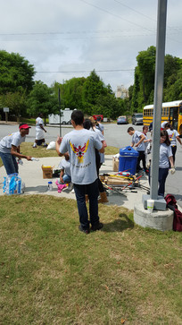 LMCC Clean-Up Day With New Hampstead HS