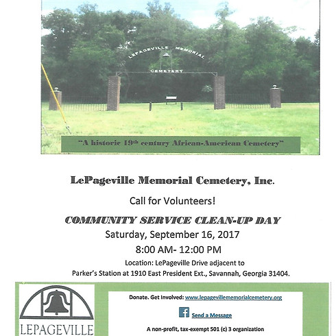 Community Service Clean-Up Day