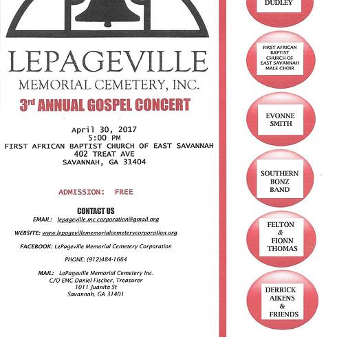 3rd Annual Gospel Concert