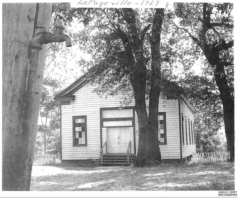 LePageville Baptist Church Picture by Ph