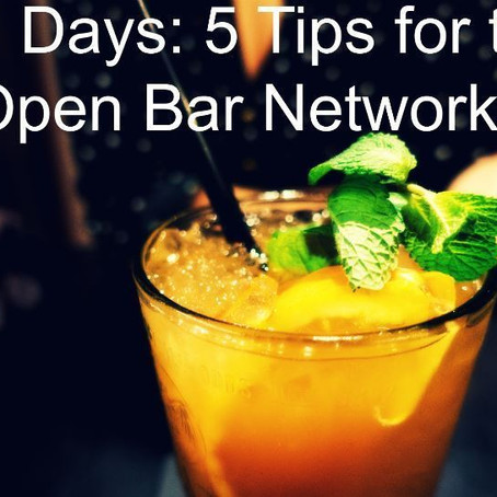 5 Ways to Keep Happy Hour From Becoming Awkward Hour