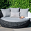 Thumbnail: Maze  - Amore Daybed - Grey (PRE ORDER)