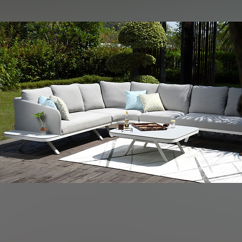 PRE ORDER - Maze Lounge - Outdoor Fabric Cove Corner Sofa Group