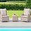 Thumbnail: Maze  - Cotswold Reclining 2 Seat Lounge Set