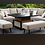 Thumbnail: Maze Lounge - Outdoor Fabric Ambition Corner Group - With Rising Table