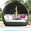 Thumbnail: Maze  - Lotus Daybed - Grey (PRE ORDER)