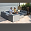 Thumbnail: Maze Lounge - Outdoor Fabric Large Apollo Corner Sofa Group