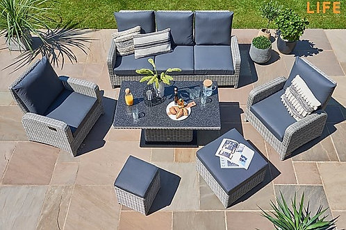 LIFE Hawaii Lounge Sofa Reclining Set