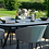 Thumbnail: Maze  - Outdoor Fabric Ambition 8 Seat Oval Dining Set - Flanelle