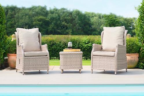 Maze  - Cotswold Reclining 2 Seat Lounge Set