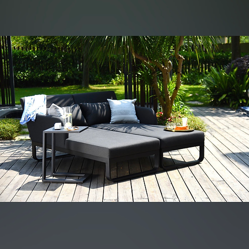 Maze Lounge - Outdoor Fabric Unity Double Sunlounger