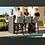 Thumbnail: Maze Lounge - Outfoor Fabric Regal 6 Seat Rectangular Bar Set - 4 Colours