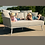 Thumbnail: Maze Lounge - Outdoor Fabric Ark Daybed