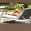Thumbnail: Maze Lounge - Outdoor Fabric Allure Sunlounger