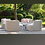 Thumbnail: Maze Lounge - Outdoor Fabric Snug with Rising Table