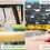 Thumbnail: Maze  - Outdoor Fabric Pebble 8 Seat Rectangular Dining Set - With Fire pi