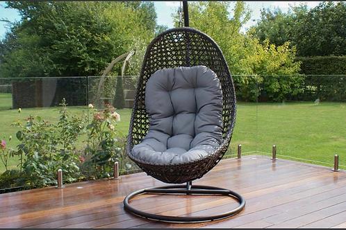 Maze  - Malibu Hanging Chair - Grey