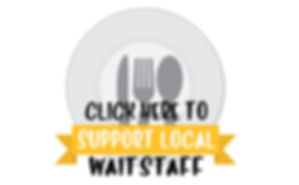 EAT HEALTHY EAT LOCAL SUPPORT WAITSTAFF.