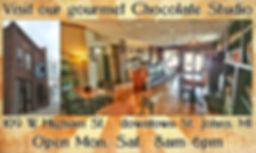 Oh Mi Organics Gourmet Chocolate Studio St. Johns MI