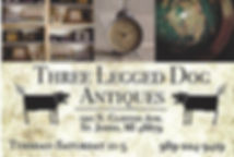 Three Legged Dog Antiques St Johns Mi