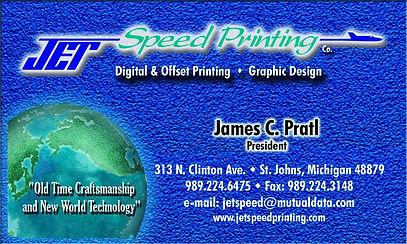 jet speed printing downtown st johns mi.