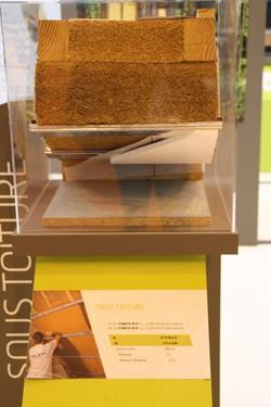 Mise en place fibre de bois - Toiture