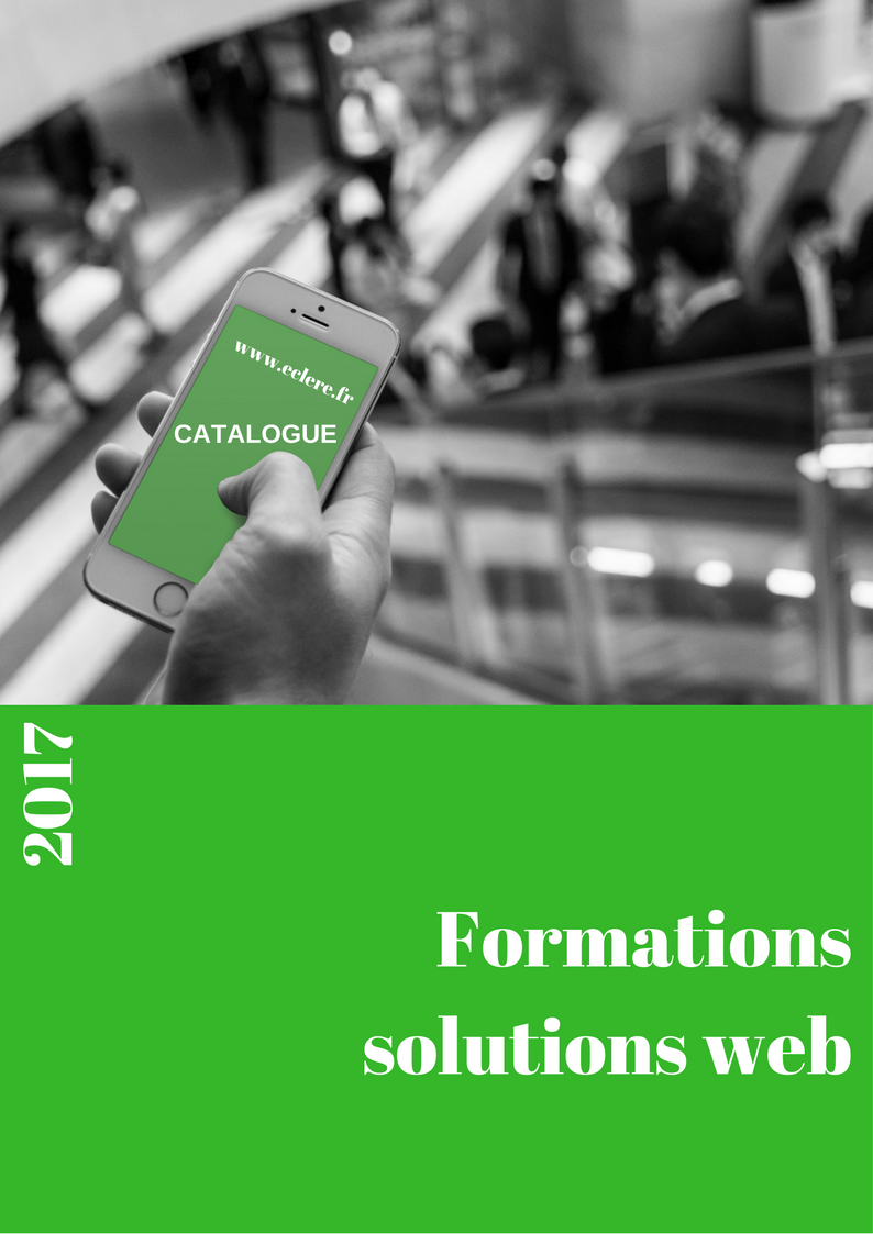 Catalogue Eclere prestations et formations Web