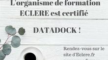 Les formations professionnelles ECLERE certifiées DATADOCK