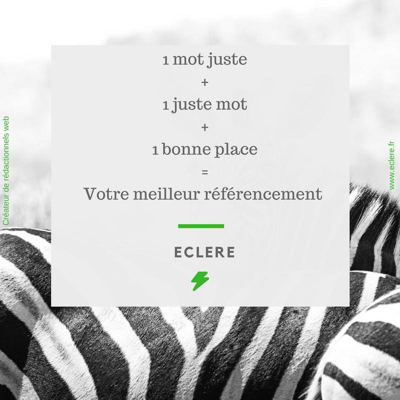 ECLERE, agence de communication spécialisée dans le référencement naturel de votre site internet en Ardèche !