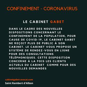 Coronavirus - Consultation téléphonique