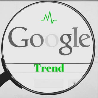 Evolution de Google Trend, tendances du web vu par Google !