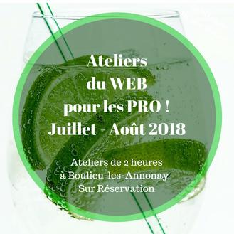 Top départ des mini-ateliers Web d'Eclere pour cet été, formez-vous au digital facilement !