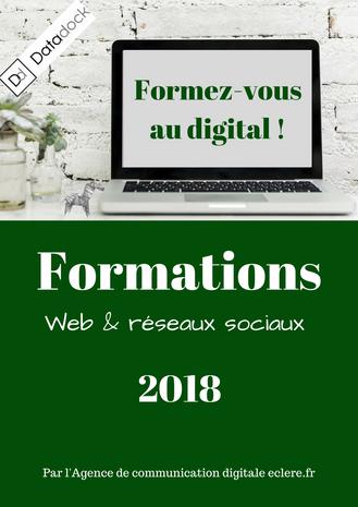 Formez-vous au digital ! Le nouveau catalogue d'ECLERE est disponible