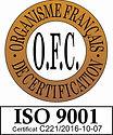 Logo OFC ISO 9001 C221-2016-10-07 (sans