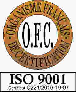 SEPEM certifié O.F.C - ISO 9001
