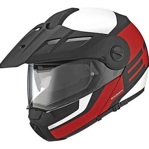 Schuberth E1 Adventure Guardian Red