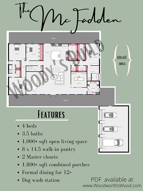 McFadden Floor Plan