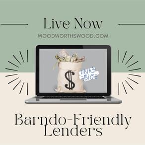 Barndo-Friendly Lenders