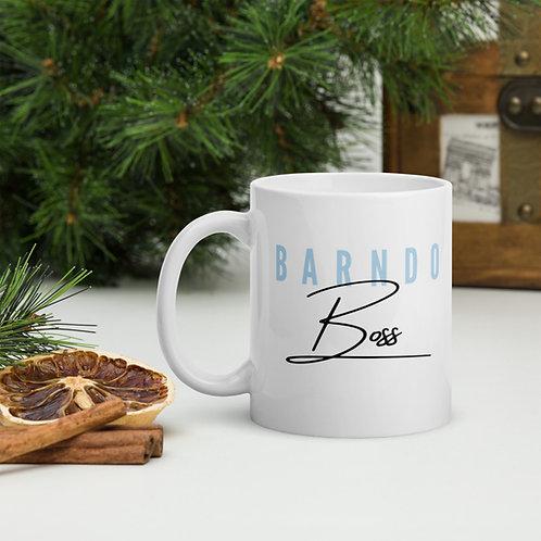 Barndo Boss Mug- Baby Blue