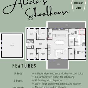 Alicia's Schoolhouse Barndo