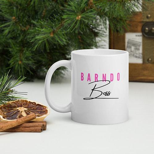 Barndo Boss Mug- Pink