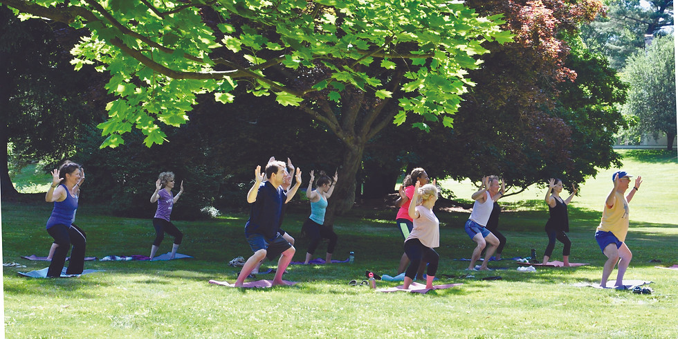 All Levels Yoga On The Farm 6/20