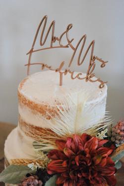 Wedding cake - StoneBriar Farm KC wedding venue