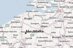Meulebeke map