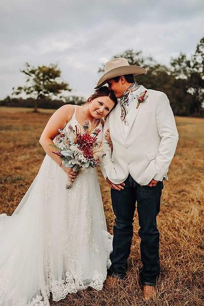 Bride and groom at Kansas City's newest wedding venue