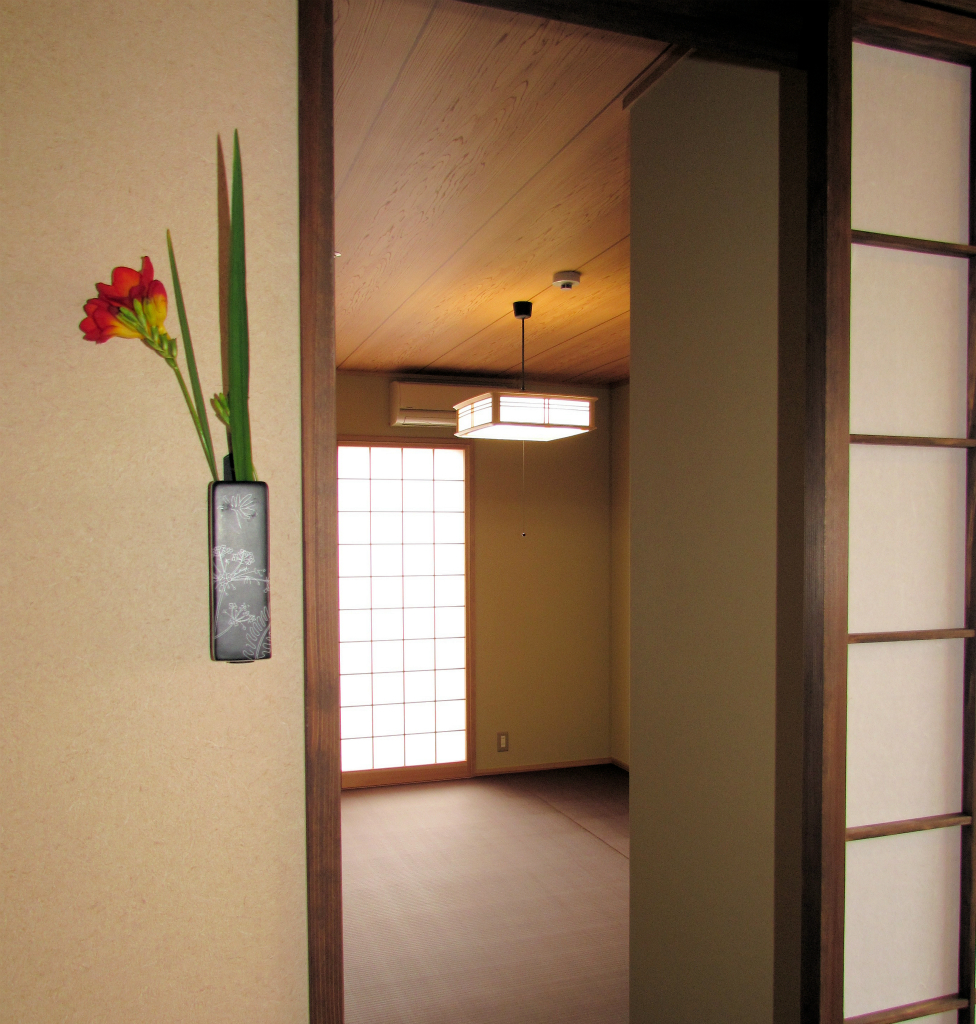 居室の入口から