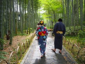 Shuzenji in Kimono